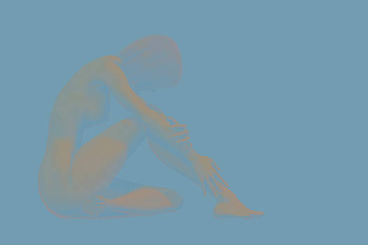 Abstract Female Nude by Carol and Mike Werner