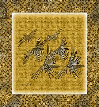 Abstract Flock by Iris Gelbart