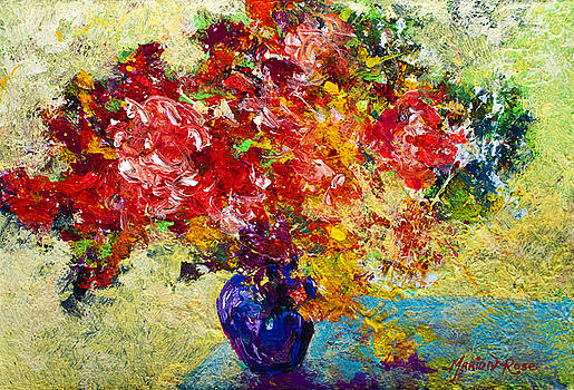 Marion Rose - Abstract Floral 1