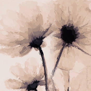 Abstract flower by Anthony Fishburne