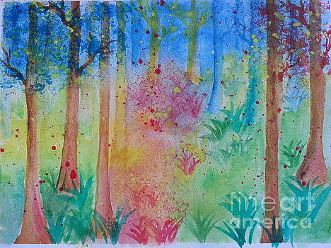 Abstract Forest by Karleen Kareem