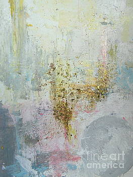 Abstract gold by France Laliberte