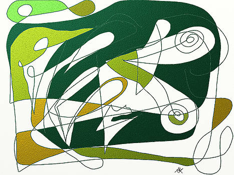 Abstract I by Agnes Karcz
