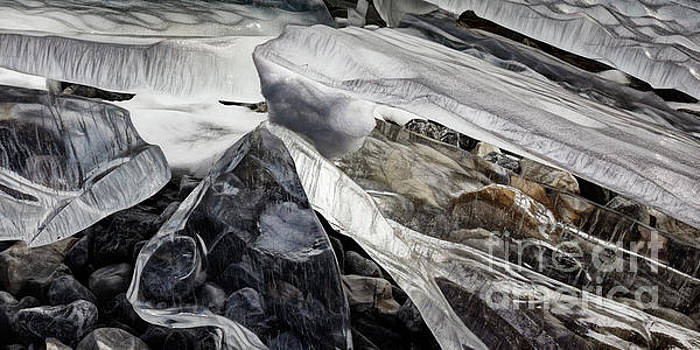 Abstract Ice by Brad Allen Fine Art