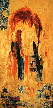 Abstract in Gold by Renate Dartois