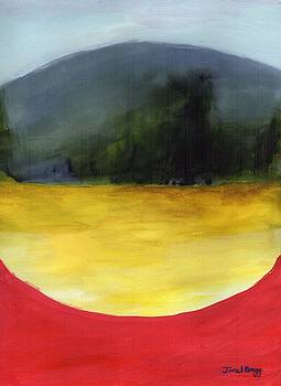 Abstract Landscape One by Janel Bragg