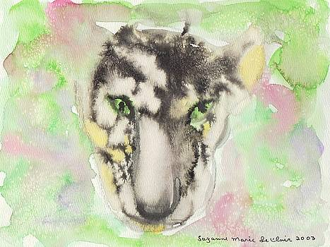 Suzanne  Marie Leclair - Abstract Leopard