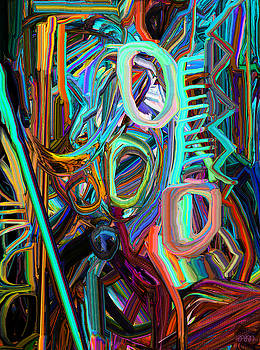 Abstract Line 3 by Phillip Mossbarger