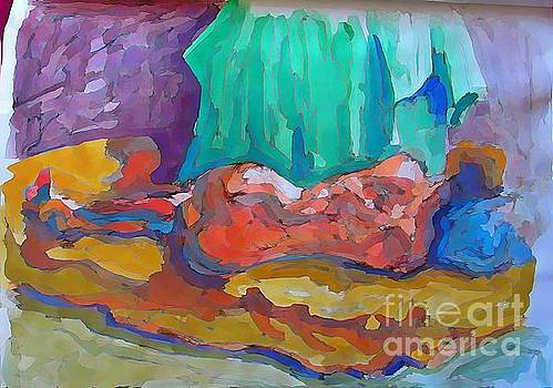 John Malone - Abstract Nude Female