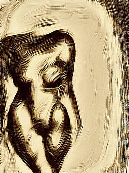 Abstract Nude by James Barnes