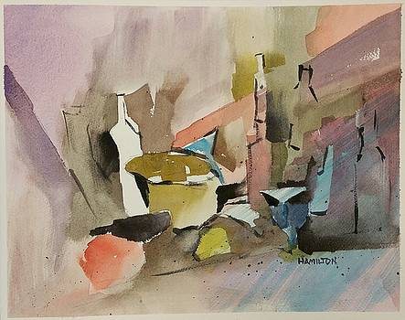 Abstract Opus 4 by Larry Hamilton