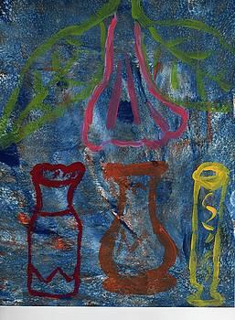 Abstract Pottery by Rosemary Mazzulla