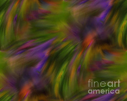 Abstract Purple And Green Colors by Smilin Eyes  Treasures