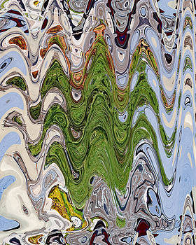 Abstract  Rosemary by Carl Deaville