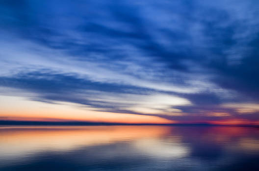 Abstract Seascape by Silke Magino