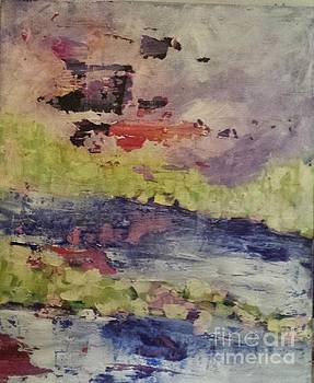 Abstract Series Dreaming by Sherry Harradence
