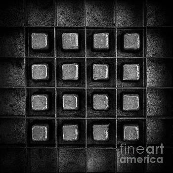 Edward Fielding - Abstract Squares Black and White