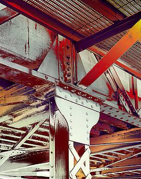 Grunge Steel Beam by Robert G Kernodle