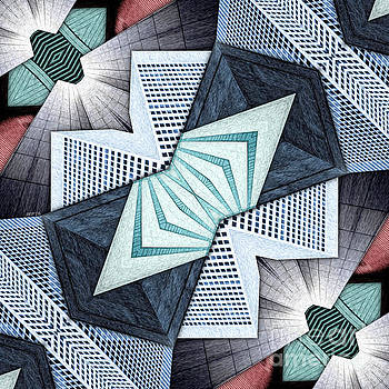 Abstract Structural Collage by Phil Perkins