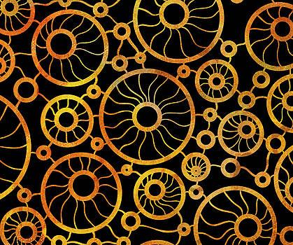Frank Tschakert - Abstract Sunflower Field