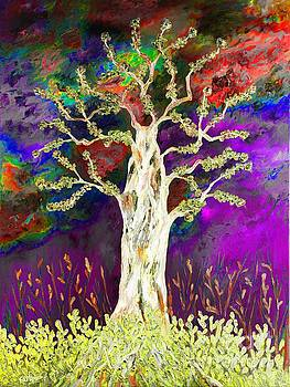 Abstract tree by Loredana Messina