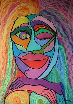 Abstract Woman by Norma Tolliver
