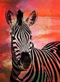 Abstract Zebra. by Lyn Darlington