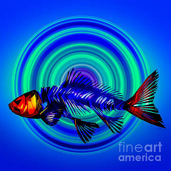 Abstracted Fish by Michael Arend