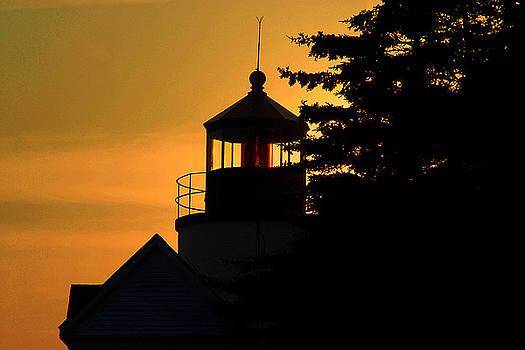 Acadia Lighthouse by Barry Shaffer