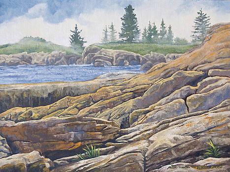 Acadia Morning by Peter Muzyka