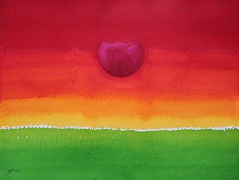 Acceptance original painting by Sol Luckman