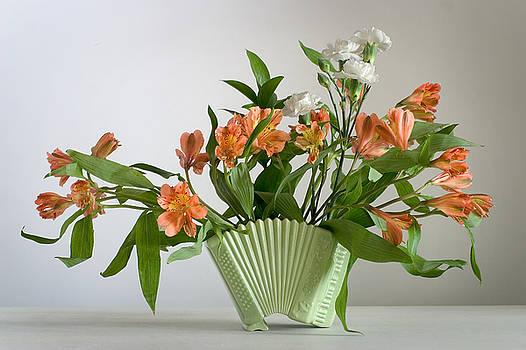Accordion Vase by Ron Morecraft