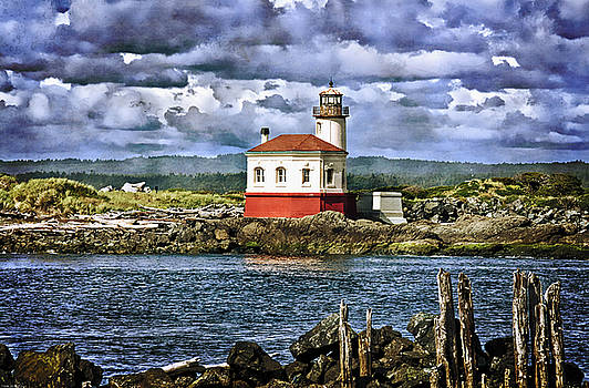 Thom Zehrfeld - Across From The Coquille River Lighthouse