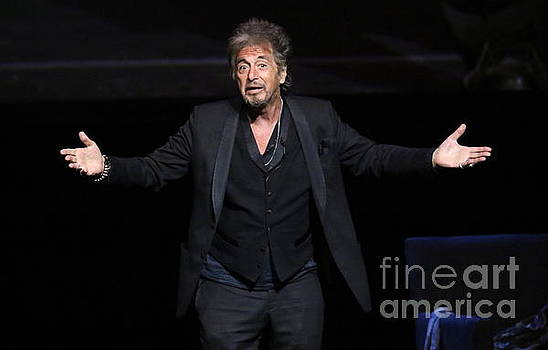 Actor Al Pacino by Front Row Photographs