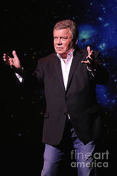 Actor and Comedian William Shatner by Front Row Photographs