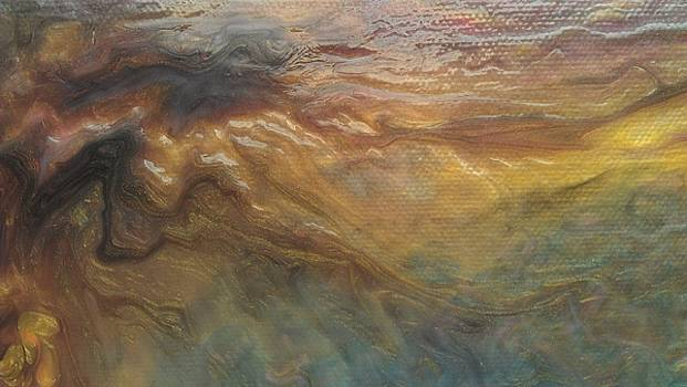 Acylic Pour by Sonya Wilson