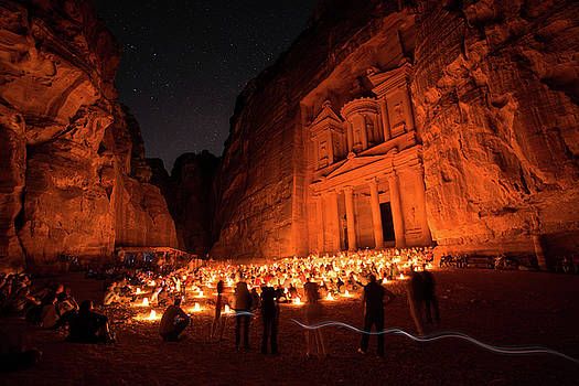 Ad Deir Monastery Petra by Susanahajer