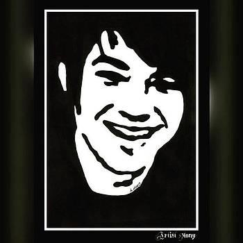 Adam Lambert  #art #portrait by Eman Allam