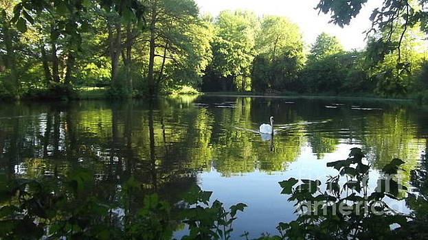 Adlestrop lake by John Williams