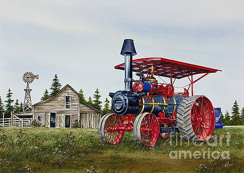 Advance Rumely Steam Traction Engine by James Williamson
