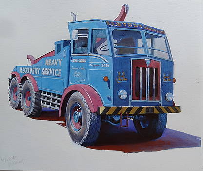 AEC Militant Lloyds by Mike Jeffries