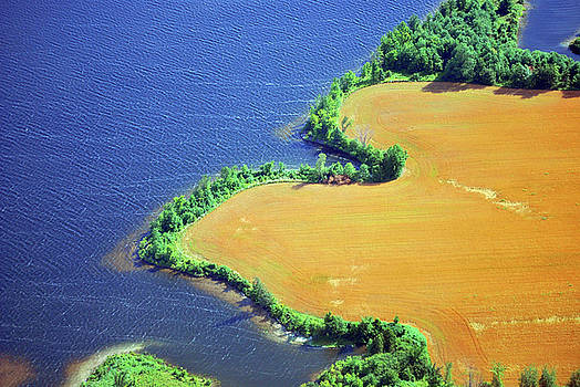 Aerial Shoreline by Robert Goulet