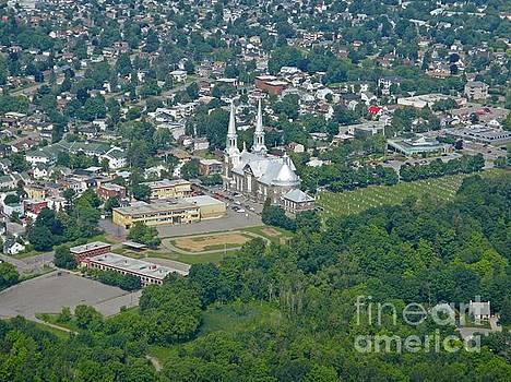 John Malone - Aerial View of Church