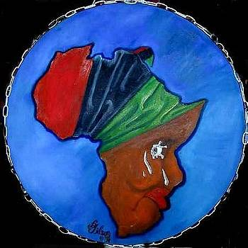 Africa Weeping by David G Wilson