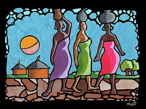 African Cat Walk by Anthony Mwangi