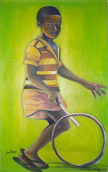 African cycler by Olaoluwa Smith