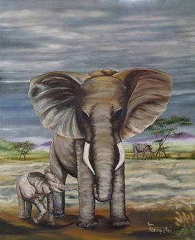 African Elephant by Ann Kleinpeter