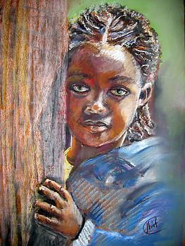 African Girl by Shirley Roma Charlton