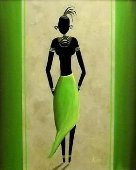 African Lady by Edwin Alverio