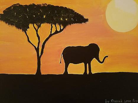 African Sunset by Chenee Reyes